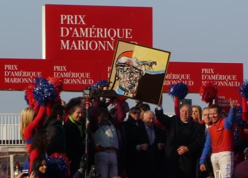 Présentation du Prix d'Amérique Marionnaud 2012