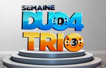 La semaine Duo 4 et Trio sur Betclic